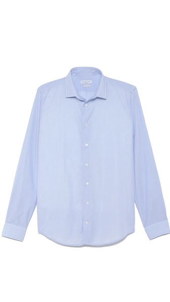 Richard James Micro Check Dress Shirt