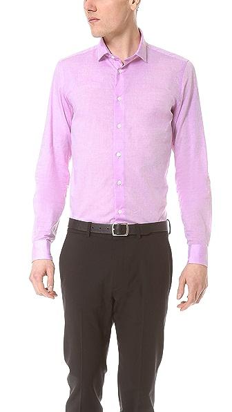 Richard James Chambray Dress Shirt