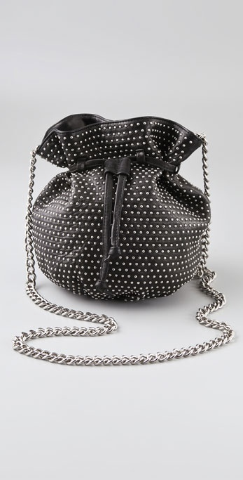 Rebecca Minkoff Studded Out Drawstring Mini Bag