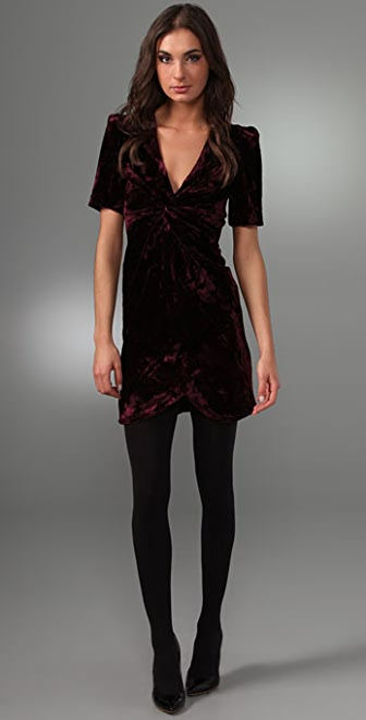 Rebecca Minkoff Crushed Velvet Ilaria Dress