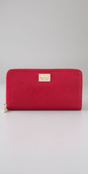 Rebecca Minkoff Shine Large Zip Wallet