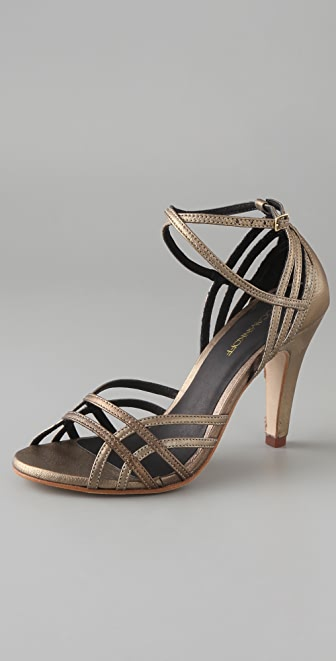 Rebecca Minkoff Knockout Strappy Sandals