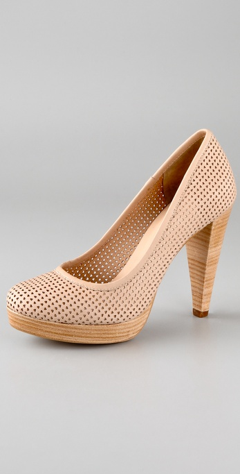 Rebecca Minkoff Vixen Perforated Pumps