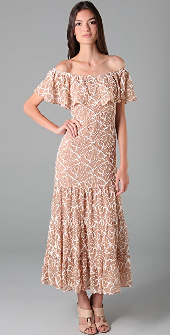 Rebecca Minkoff Embroidered Dev Dress