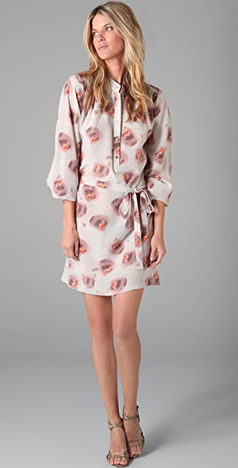 Rebecca Minkoff Stone Floral Shirtdress