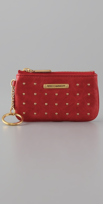 Rebecca Minkoff Gusset Little Louie Key Pouch