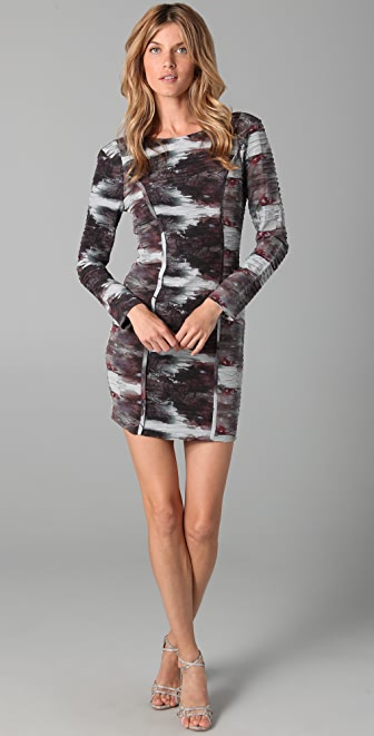 Rebecca Minkoff Frejac Print Shift Dress