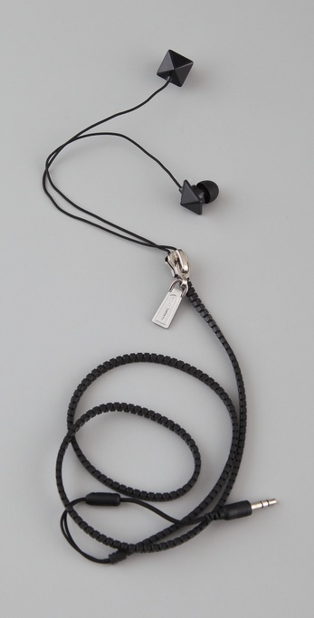 Rebecca Minkoff Zipped Up Ear Phones
