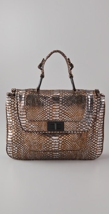 Rebecca Minkoff Covet Evening Snake Satchel