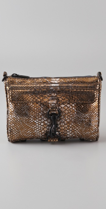 Rebecca Minkoff Mini MAC Evening Snake Bag