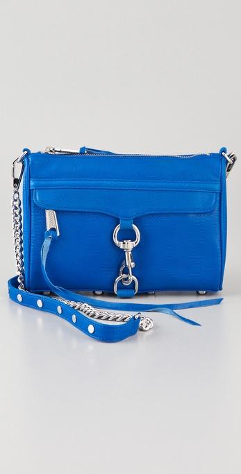 Rebecca Minkoff Neon Lizard Mini MAC Bag