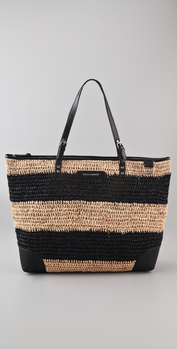 Rebecca Minkoff Endless Love Straw Tote
