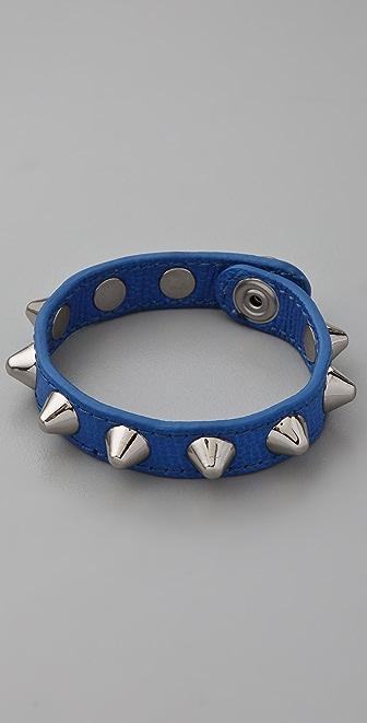 Rebecca Minkoff The Pointy Stud Leather Bracelet