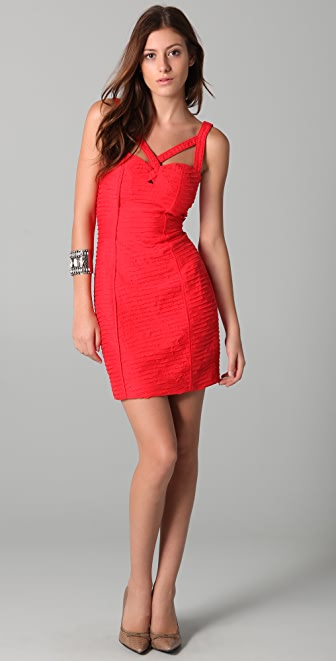 Rebecca Minkoff Pleated Sexy Dress