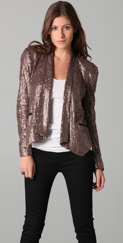 Rebecca Minkoff Becky Sequined Jacket