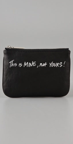 Rebecca Minkoff This Is Mine, Not Yours Cory Coin Wallet