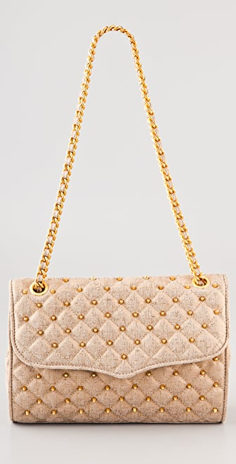 Rebecca Minkoff Quilted Shimmer Affair Bag