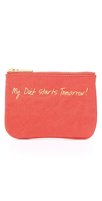Rebecca Minkoff My Diet Starts Tomorrow Cory Coin Wallet