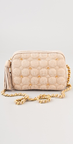 Rebecca Minkoff Quilted Shimmer Flirty Bag