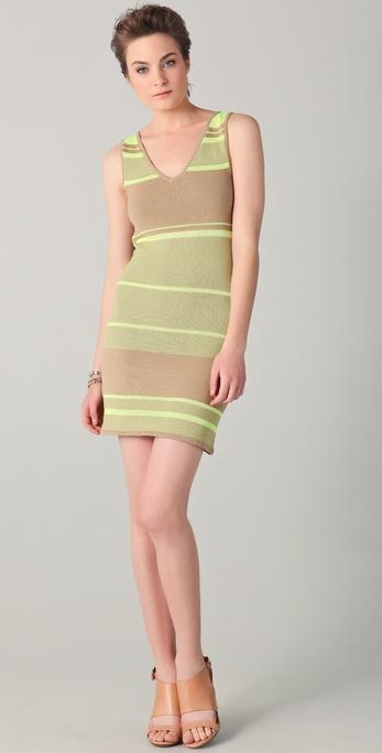 Rebecca Minkoff Sunset Knit Tank Dress