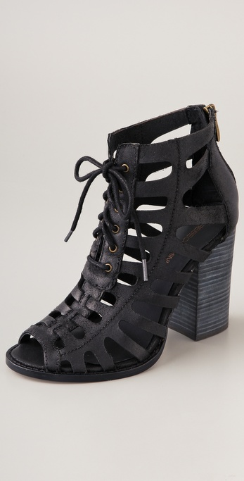 Rebecca Minkoff Drew Lace Up Booties