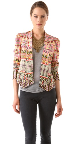 Rebecca Minkoff Becky Printed Jacket