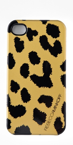 Rebecca Minkoff Cheetah iPhone Case