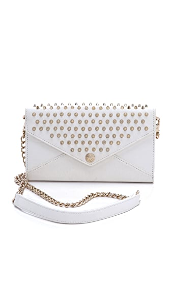 Rebecca Minkoff Wallet on a Chain with Studs