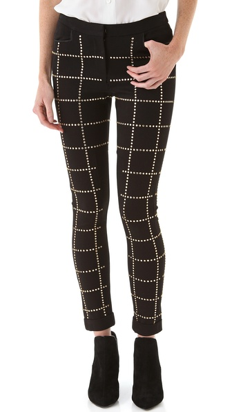 Rebecca Minkoff Studded Winston Pants