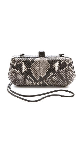 Rebecca Minkoff Python Fling Clutch