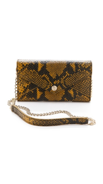Rebecca Minkoff Python Wallet on a Chain