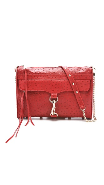 Rebecca Minkoff Ostrich MAC Daddy Bag