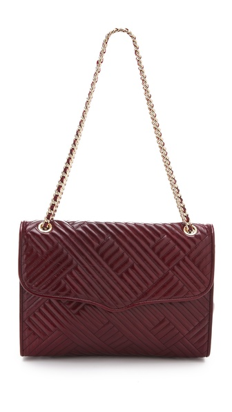Rebecca Minkoff Line Quilted Large Affair Bag