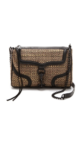 Rebecca Minkoff Woven MAC Bombe Bag