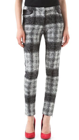 Rebecca Minkoff Nicholas Checkered Pants