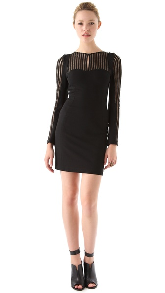 Rebecca Minkoff Lilia Metallic Dress