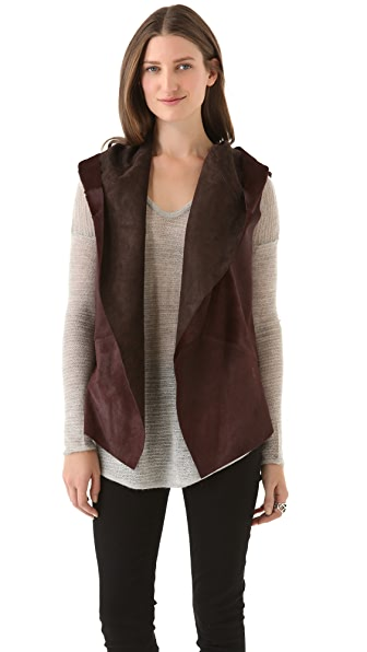 Rebecca Minkoff Cat Haircalf Vest
