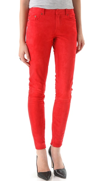 Rebecca Minkoff Walker Suede Pants