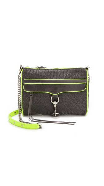 Rebecca Minkoff Woven MAC Bag