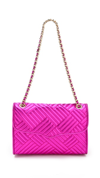 Rebecca Minkoff Metallic Quilted Affair Bag