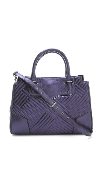 Rebecca Minkoff Metallic Amorous Tote