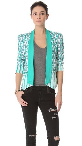 Rebecca Minkoff Printed Becky Jacket