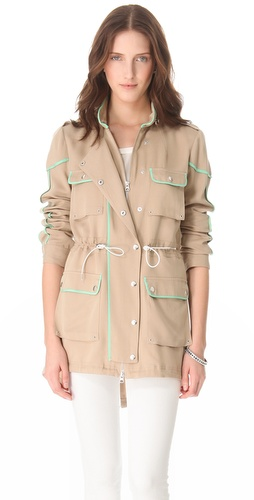Shop Rebecca Minkoff Sutherland Jacket and Rebecca Minkoff online - Apparel,Womens,Outwear,Trench, online Store