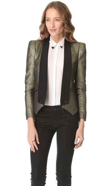 Rebecca Minkoff Jacquard Becky Jacket