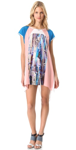 Shop Rebecca Minkoff Printed Baseball Dress and Rebecca Minkoff online - Apparel,Womens,Dresses,Day_to_Night, online Store