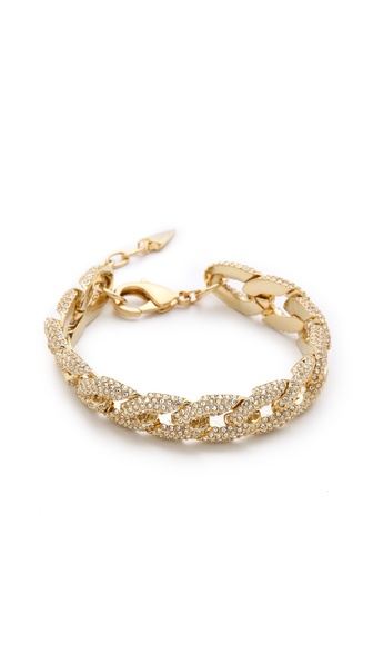 Rebecca Minkoff Pave Chain Link Bracelet