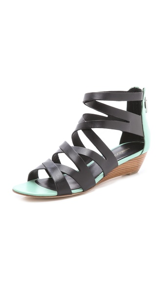 Rebecca Minkoff Bonnie Strappy Wedge Sandals