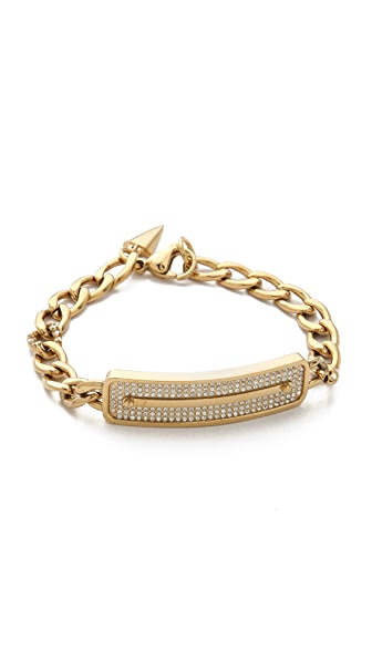 Rebecca Minkoff Pave ID Bracelet