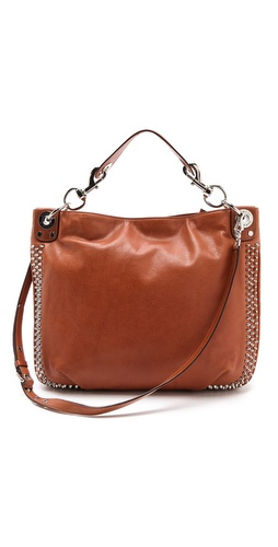 Rebecca Minkoff Mini Luscious Hobo with Studs at Shopbop.com