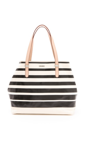 Rebecca Minkoff Horizon Stripe Cherish Tote
